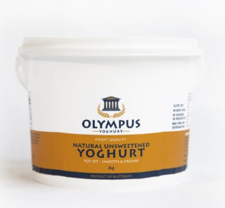 Olympus natural yoghurt | Featured image for yoghurt supplier Brisbane product page.