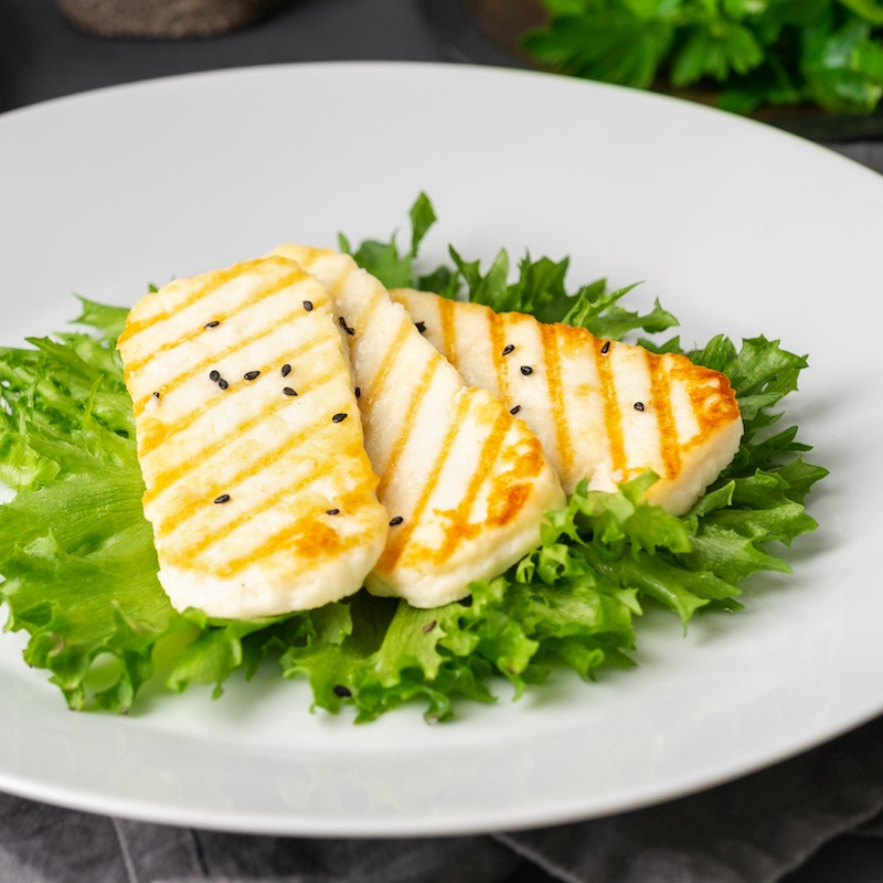 Grilled Halloumi | Featured image for restaurant suppliers home page.